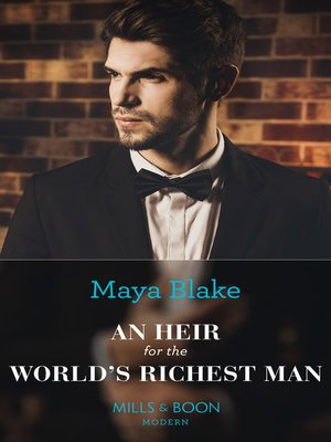 cover image of An Heir For the World's Richest Man